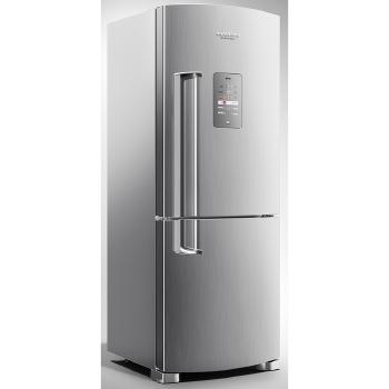 Refrigerador 422 Litros Brastemp 2 Portas Frost Free Inverse Inox