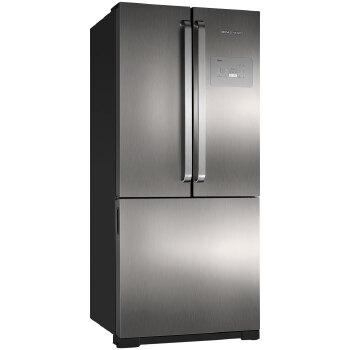 Refrigerador 540 Litros Brastemp 3 Portas Frost Free Syde Inverse Classe A
