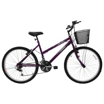 bicicleta feminina aro 26 21 marchas bella