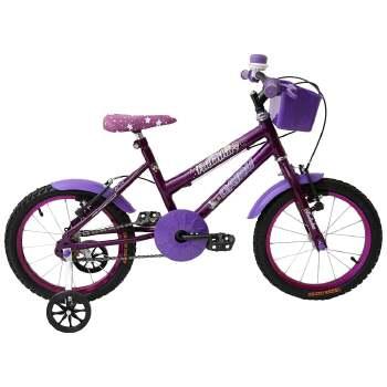 bicicleta feminina aro 16 fadinha