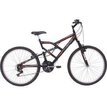 Bicicleta Aro 26 Mormaii Full FA 240 Suspens�o-a�o 18 Marchas