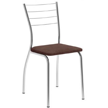 cadeira carraro cromada 1700