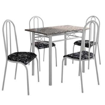 Conj. Mesa Fabone Genebra 04 Cadeiras