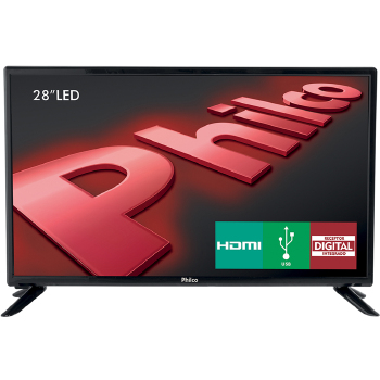 TV 28 Polegadas Philco Led HD HDMI USB