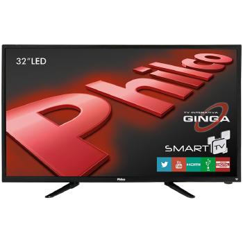 TV 32 POLEGADAS PHILCO LED INTERNET WIFI HD HDMI USB