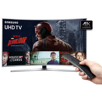 TV 65 POLEGADAS SAMSUNG LED CURVA 4K SMART USB HDMI
