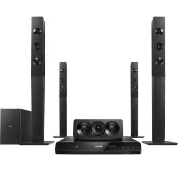 Home Theater Philips 1000 Watts RMS 5.1 Bluetooth