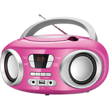 Radio Mondial 6 Watts RMS CD FM MP3 USB