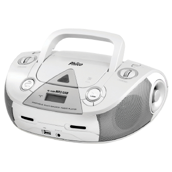 RÁDIO PHILCO 4 WATTS RMS CD FM MP3 USB