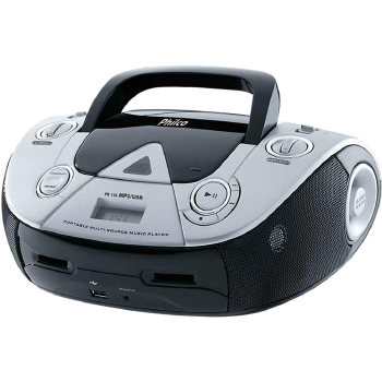 RÁDIO PHILCO 4 WATTS RMS CD FM MP3 USB