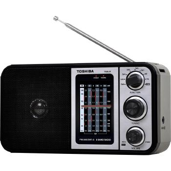 Rádio Portátil Toshiba 8 Faixa USB