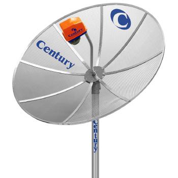 antena century 1.70mt multiponto sem receptor