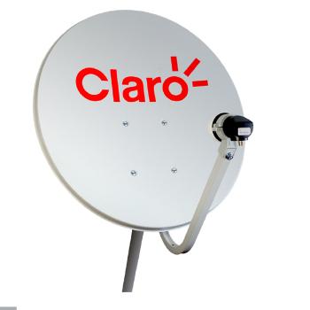 ANTENA MINI PARABOLICA 90CM CLARO TV