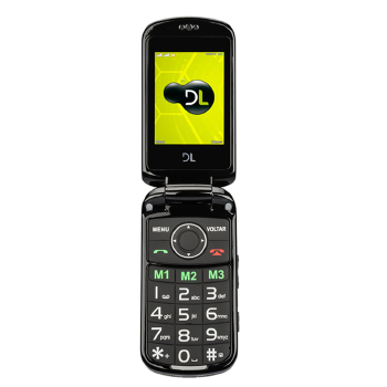 Celular DL Feature Phone YC-130 Dual
