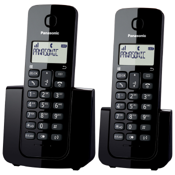 Tel Panasonic KX - TGB112LBB S/Fio Combo Dect 6.0