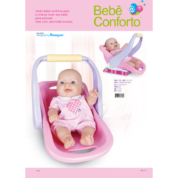 Boneca Cotiplás Bebê Conforto