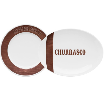 Conjunto de Churrasco Oxford 10 peças