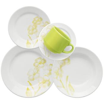 Conjunto de Jantar Biona Oxford Pureza 30 Peças