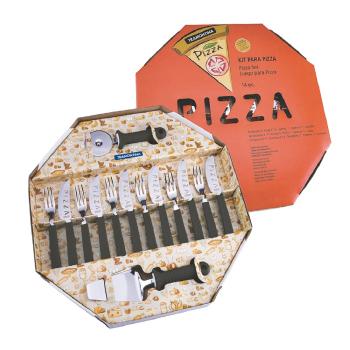 Kit para pizza 14 peças tramontina