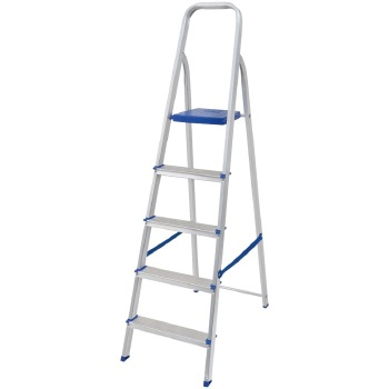 Escada Mor Alumínio 5 Degraus
