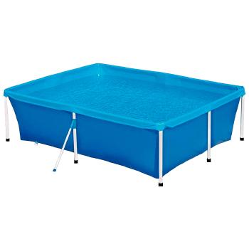 piscina 2.000 litros armação de ferro