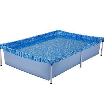 piscina 1.000 litros armação de ferro
