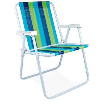 cadeira de praia alta a�o
