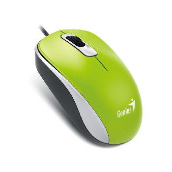 MOUSE GENIUS 31010116105 DX-110 USB VERDE