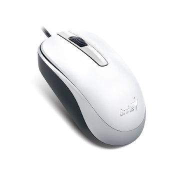 MOUSE GENIUS 31010105102 DX-120 USB BRANCO 1200 DPI