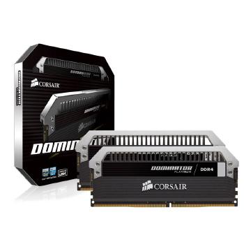 MEMORIA DESKTOP GAMER DDR4 CORSAIR CMD8GX4M2B3000C15 8GB KIT(2X4GB) 3000MHZ DIMM CL15 DOMINATOR
