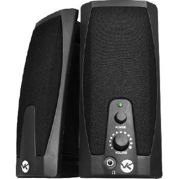 CAIXA DE SOM 2.0 USB 2W RMS VS-201 PRETA - VINIK