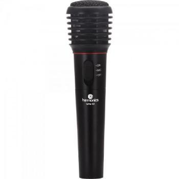 Microfone com e sem Fio VHF WPM-101 Preto
