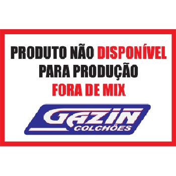 CONJUNTO GAZIN PRIMELINE GEL CAMA BOX + COLCH�O CASAL E POCKET - 66 X 1.98 X 1.58M
